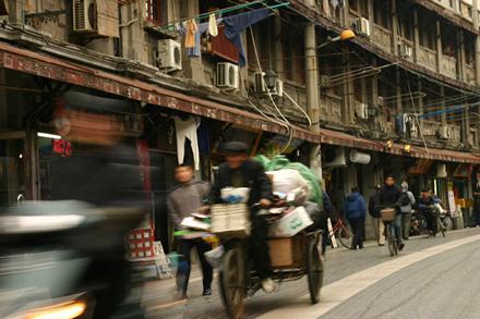 一歩路地に入った上海